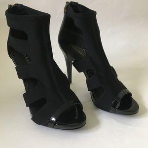 Calvin Klein cage boot heels